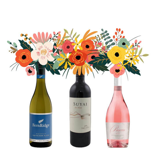 """""""Wine + Flowers"""" … A Match Made in Heaven?"""