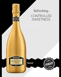 Giacobazzi Moscato White 'Gold Bottle'