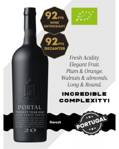 Quinta do Portal 20YO Aged Tawny Port