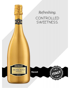 Giacobazzi Moscato White 'Gold Bottle'