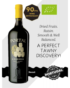 Quinta do Portal 6 Barrels Tawny Reserve Port